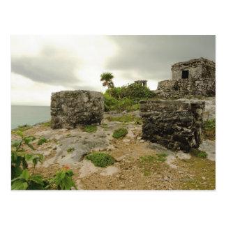 Mexico, Tulum, ancient ruins Postcard