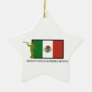 MEXICO TUXTLA GUTIERREZ MISSION LDS CTR CERAMIC ORNAMENT