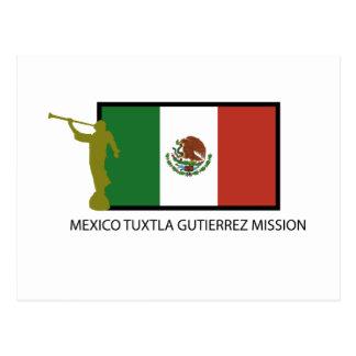 MEXICO TUXTLA GUTIERREZ MISSION LDS CTR POSTCARD