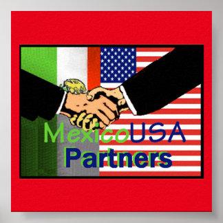 MEXICO USA Poster
