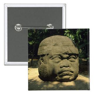 México, Villahermosa, cabeza gigante de Olmec, La  Pins