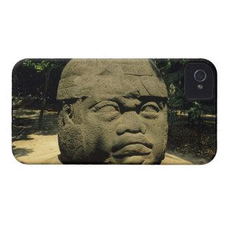 Mexico, Villahermosa, giant Olmec head, La Venta Case-Mate iPhone 4 Case