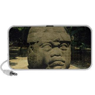 Mexico, Villahermosa, giant Olmec head, La Venta Portable Speaker