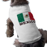 Mexico Vintage Flag Doggie Shirt