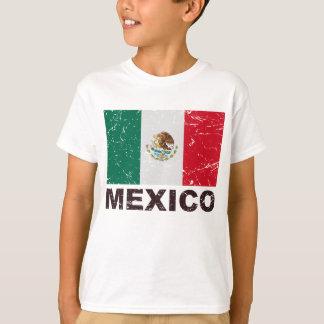 Mexico Vintage Flag T-Shirt