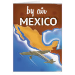 Mexico Vintage Travel poster Card