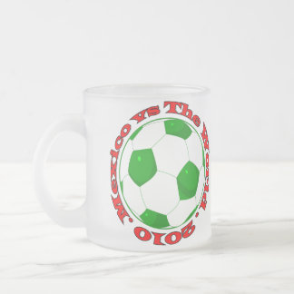 Mexico vs The World 2010 Frosted Glass Coffee Mug