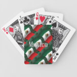 Mexico Waving Flag Bicycle Playing Cards