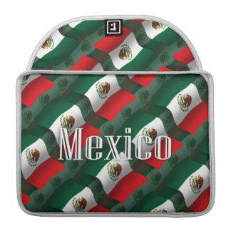 Mexico Waving Flag MacBook Pro Sleeve