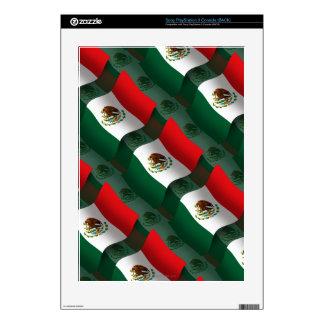 Mexico Waving Flag PS3 Skins