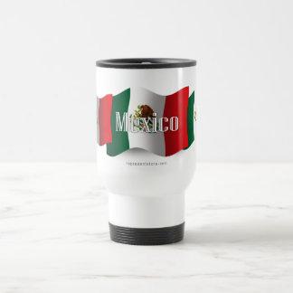 Mexico Waving Flag Travel Mug