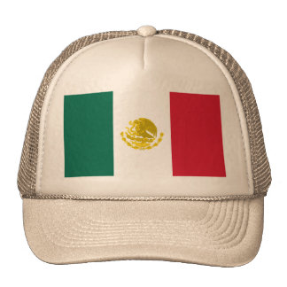 Mexico with Full Golden Arms, Mexico Trucker Hat