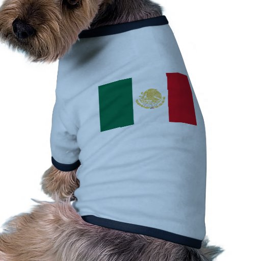 Mexico With Golden And Silver Arms, Mexico Pet T Shirt
