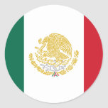 Mexico With Golden And Silver Arms, Mexico Stickers