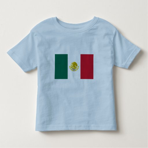 Mexico with Golden and Silver Arms, Mexico T-shirts