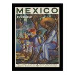 Mexico Xochimilco Postcard