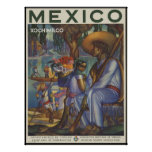 Mexico Xochimilco Print