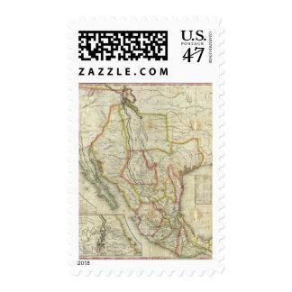 México y Estados Unidos 2 Timbre Postal
