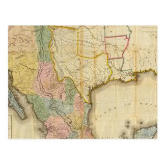 México y Estados Unidos Tarjetas Postales