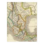 México y Guatemala Tarjeta Postal