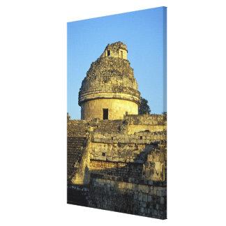 Mexico, Yucatan. Caracol: astronomical Canvas Print