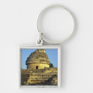 Mexico, Yucatan. Caracol: astronomical Keychain