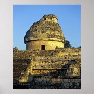 Mexico, Yucatan. Caracol: astronomical Poster