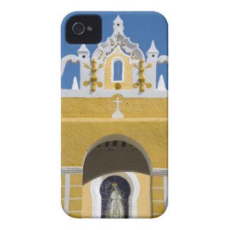 México, Yucatán, Izamal. El convento franciscano iPhone 4 Case-Mate Funda
