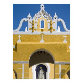 México, Yucatán, Izamal. El convento franciscano Postal