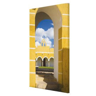 Mexico, Yucatan, Izamal. The Franciscan Convent 2 Stretched Canvas Prints