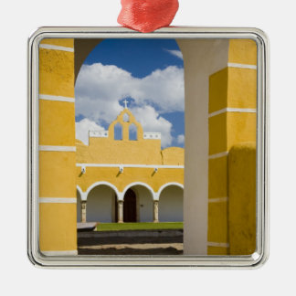 Mexico, Yucatan, Izamal. The Franciscan Convent 2 Christmas Tree Ornaments
