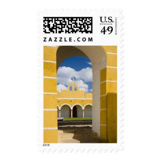 Mexico, Yucatan, Izamal. The Franciscan Convent 2 Stamp