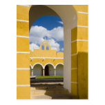 Mexico, Yucatan, Izamal. The Franciscan Convent 2 Post Cards