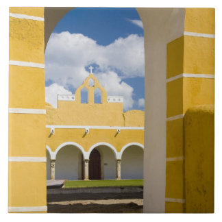 Mexico, Yucatan, Izamal. The Franciscan Convent 2 Ceramic Tiles