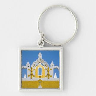 Mexico, Yucatan, Izamal. The Franciscan Convent 3 Keychain