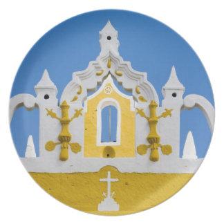 Mexico, Yucatan, Izamal. The Franciscan Convent 3 Plate