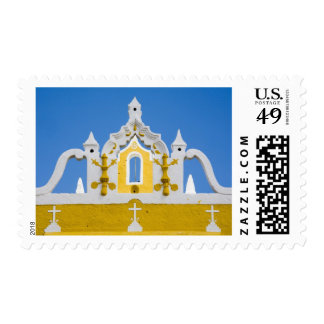 Mexico, Yucatan, Izamal. The Franciscan Convent 3 Postage Stamp