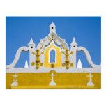 Mexico, Yucatan, Izamal. The Franciscan Convent 3 Postcard