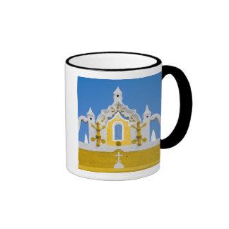 Mexico, Yucatan, Izamal. The Franciscan Convent 3 Ringer Coffee Mug