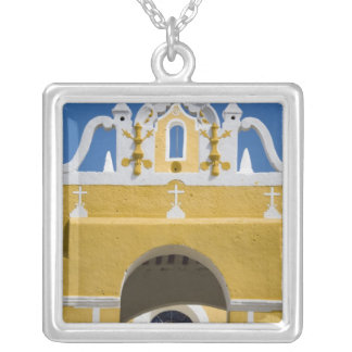 Mexico, Yucatan, Izamal. The Franciscan Convent Personalized Necklace