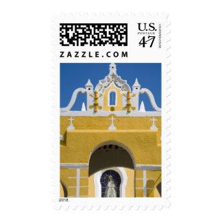 Mexico, Yucatan, Izamal. The Franciscan Convent Postage