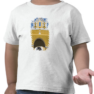 Mexico, Yucatan, Izamal. The Franciscan Convent T Shirt