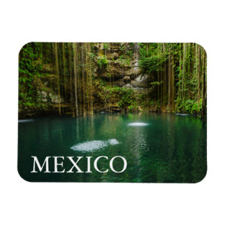 México, Yucatán, lago escénico Imanes