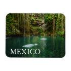 Mexico, Yucatan, Scenic Lake Magnet