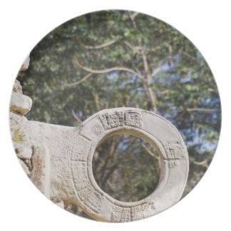 Mexico, Yucatan, Uxmal. Uxmal, a large Plate