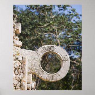 México, Yucatán, Uxmal. Uxmal, un grande Posters