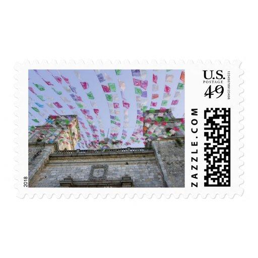 Mexico, Yucatan, Valladolid, La Parraquia de San Postage Stamp