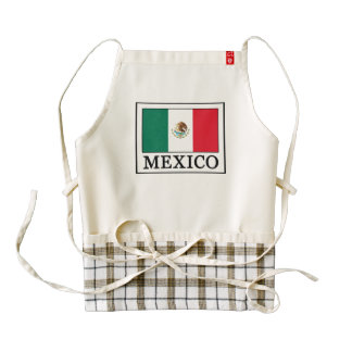 Mexico Zazzle HEART Apron