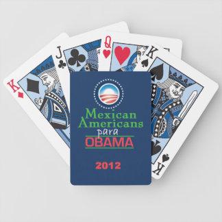MEXICOAMERICANOS de Obama Cartas De Juego