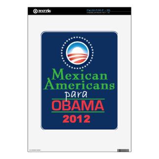 MEXICOAMERICANOS de Obama iPad Calcomanía